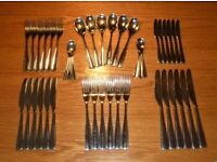 42 Piece Redwood Cutlery Set by Studio William