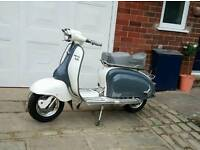 1961 Lambretta Li125(186) series2 turning mudguard