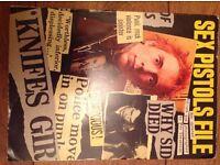 Sex Pistol File book