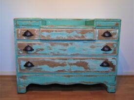 Circa 1940s-50s Lebus Dressing Table, Chest of Drawers