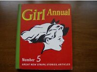 Girl Annuals Number 5 and Number 6. Hardback