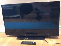 """40"""" JVC LED TV USB SLIMLINE FULL HD 1080p BUILT IN FREE VIEW CAN DELIVER"""