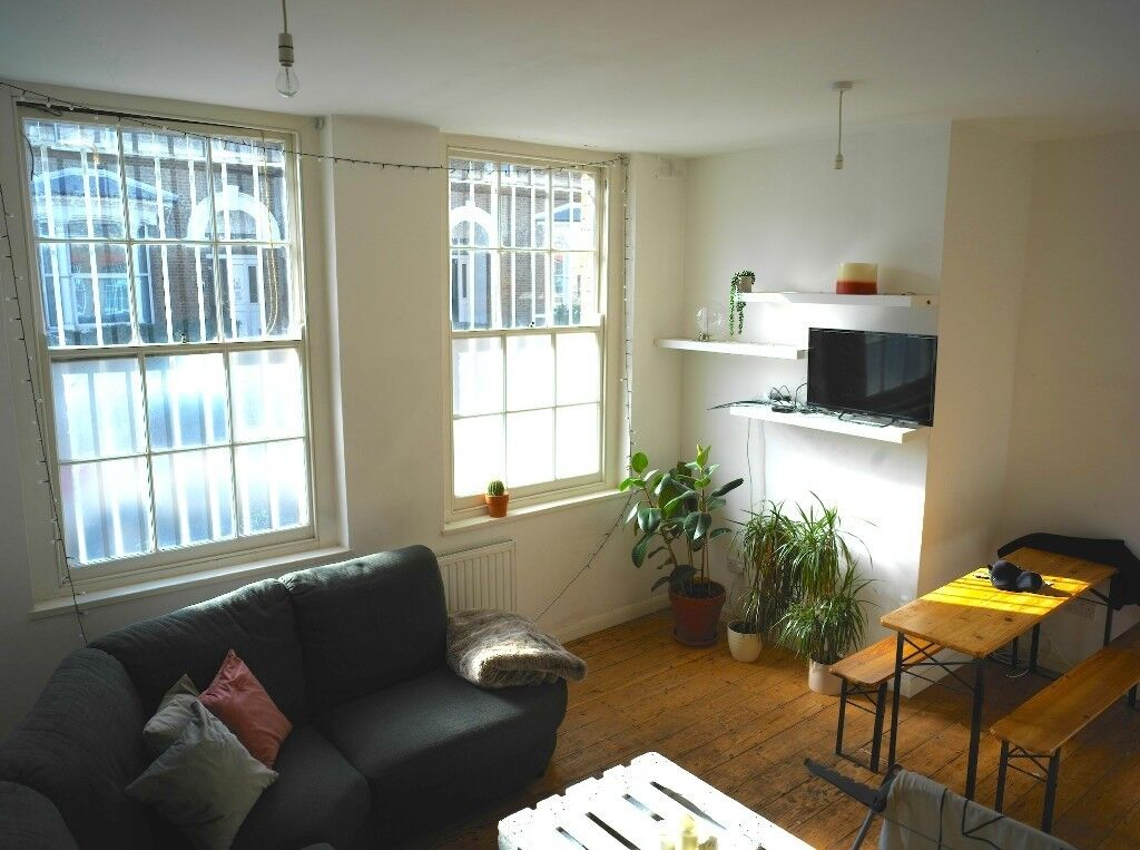 Amaizing 4 Bed Warehouse Apartment in Cool Clapton! With 2 Gardens! Lot of light+ 2 Bathrooms!