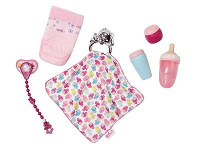 Baby Born 7 Piece Deluxe Accessory & Nursing Set For Baby Dolls Age 3+