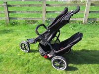 Phill and teds double buggy / pushchair +extras