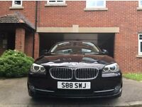 BMW 520d Private Plate