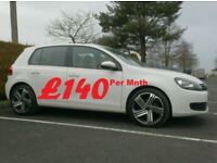 2012 Vw Golf 1.6Tdi Bluemotion Match, High Spec, £30 tax.