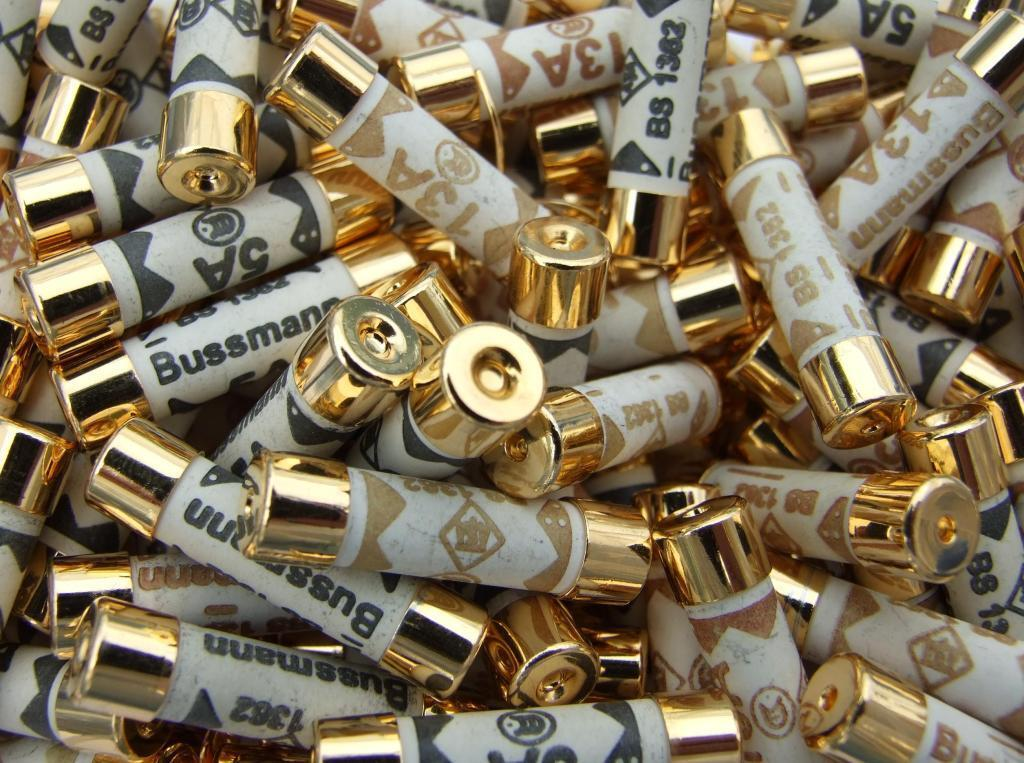 gold over silver plated audio grade bussmann fuse
