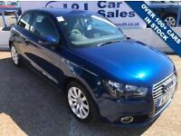 AUDI A1 1.6 TDI SPORT 3d 103 BHP A GREAT EXAMPLE INSIDE AND OUT (blue) 2013