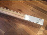 LINDMON Ikea Venetian Blinds (Wood) 80x155cm (31 1/2 x 61) (Unopened box)