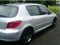 **DIESEL** PEUGEOT 307 HDI++5DRS HATCH BACK++ EXCELLENT CONDITION