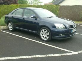 2006 Toyota Avensis 2.0D4D T4 model, totally mint car.
