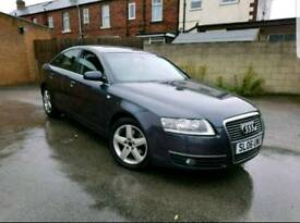 2006 AUDI A6 2.0 TDI SE 4 DOOR SALOON 6 SPEED MANUAL