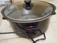 Morphy Richards 3.5 Litre Black Sear & Stew Slow Cooker 48703 used mint condition ! Bargain !!
