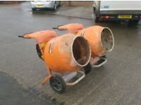 BELLE MINIMIX 150 CEMENT MIXERS 110v or 240v (See Listing Details)