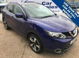 NISSAN QASHQAI 1.5 DCI N-TEC PLUS 5d 108 BHP A GREAT EXAMPLE INSIDE AND OUT (blue) 2015