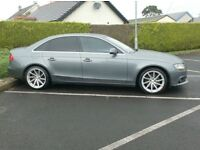 2011 Audi A4 2.0Tdi Lovely in grey, £30 to Tax, full Audi History.