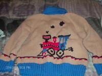 homemade sweater
