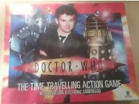 Doctor Who The Time Travelling Action Board Game Electronic