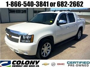 2012 Chevrolet Avalanche 1500 LTZ, Rear DVD, Sunroof, Leather