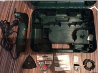 Bosch PMF 190 E Multifunction Tool with Cutting Discs, Saw Blades and Sander Sheets RRP £80