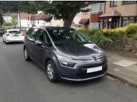 Rent 7 Seater Car: Citroen C4 Grand Picasso 2015 , 65 P/D , Automatic
