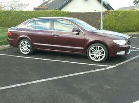 2011 Skoda Superb 170bhp Elegance, Top Of the range, just out of England