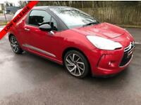 DS DS 3 1.2 PURETECH DSTYLE NAV S/S 3d 109 BHP IMMACULATE CONDITION, £20 ROAD TAX (red) 2015