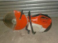 """STIHL TS420 14"""" 2 STROKE PETROL CUT OFF SAW (c/w Diamond Blade Fitted)"""