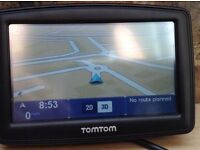 TomTom XL Sat Nav GPS navigator with Europe and UK maps