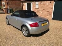 2003 Audi TT Roadster 1.8 (150bhp) Silver / Black Hood needs to go ...