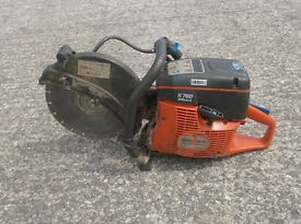 HUSQVARNA K760 2 STROKE PETROL CUT OFF SAW STIHL (c/w Diamond Blade)