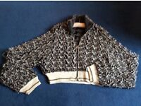 Alexander Wang Knitted Zipped Jacket U.K. Size 12