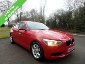 BMW 1 SERIES 2.0 116D ES 5d 114 BHP (red) 2013