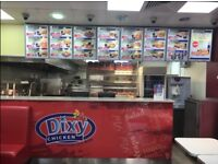 Established Franchise Dixy Chicken Takeaway Business For Sale - Excellent Location - High Turnover