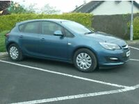 2013 Vauxhall Astra 1.7Cdti Ecoflex, Free Tax, one Owner