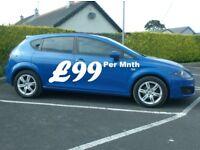 2010 Seat Leon 1.6Tdi Se Copa Ecomotive, Free tax, Sonic Blue
