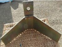 V Shape plate for a Trailer. the bow of a Boat Dinghy Tender Yacht is held by this Bracket
