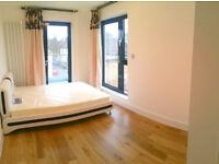 Double en-suite room with big terrace/balcony!!! in Surrey Quays/Canada Water