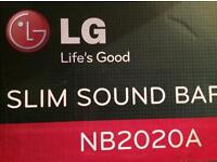 LG SOUND BAR NB2020A new in box