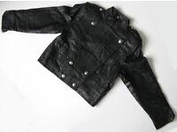 Unworn 90s style Leather Jackets x4