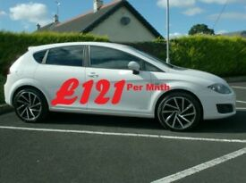 2012 Seat Leon 1.6Tdi Se Copa, In White, £20 to tax.