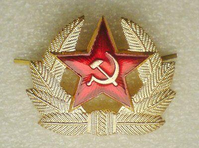 Kokarda Original USSR Soviet Union Russia Army Red Star Hat pin badge