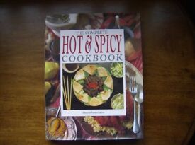 The Complete Hot & Spicy Cook Book HARDBACK Edited by: Emma Callery