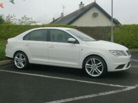 2014 Seat Toledo 1.6Tdi, In White, Full History, 18inch Alloys.