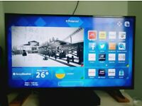 50 INCH 4K ULTRA HD SMART LED TV+LIKE NEW+BUILT IN APPS+WIFI+REMOTE+DELIVERY