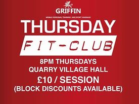 A fun indoor exercise class on Thursday evenings!