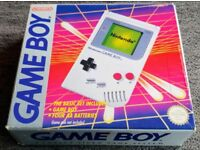 Nintendo Gameboy Handheld Collection (4x Consoles) - All Boxed - All Working + 1x Game Included