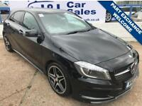 MERCEDES-BENZ A CLASS 2.1 A200 CDI AMG NIGHT EDITION 5d AUTO 134 BHP A GREAT EXAMPLE INSIDE AND OUT