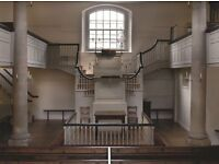 'Welcomer' Volunteers needed at the New Room / John Wesley's Chapel